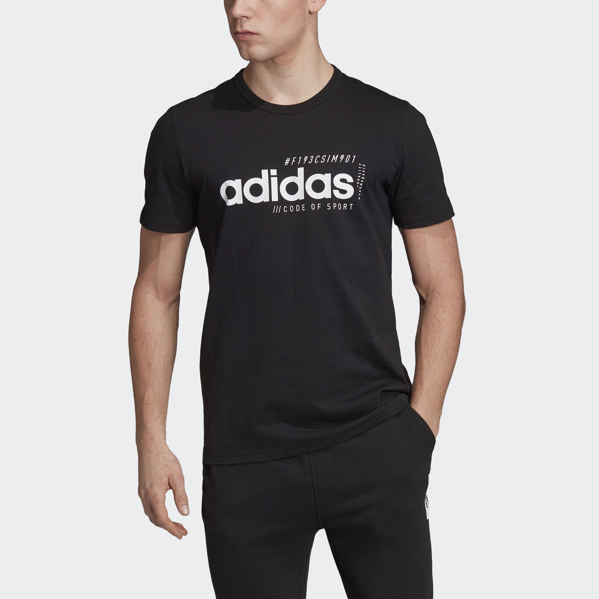 Фото - Футболку Brilliant Basics adidas Performance черного цвета